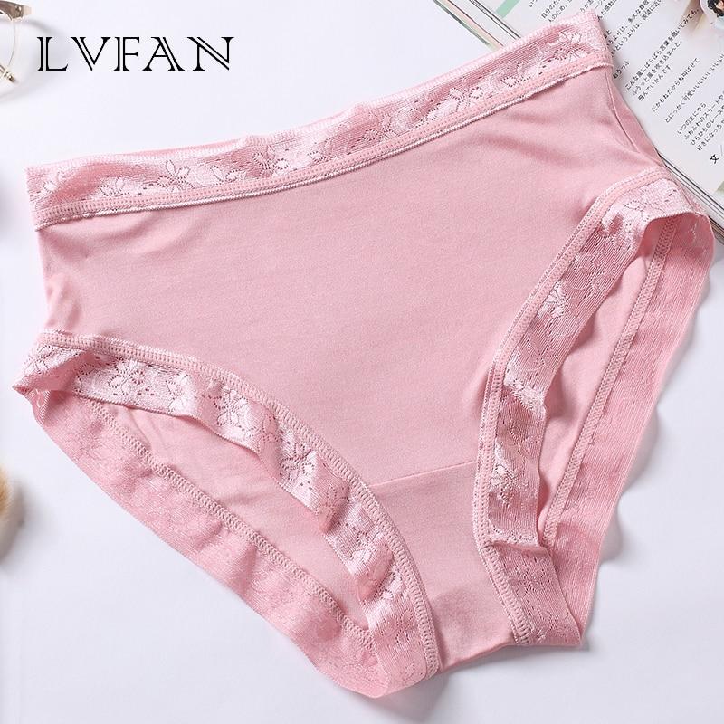 3 pcs lot women Summer Silk Lace underwear Thin Section Briefs Panties Breathable Lingerie Ladies Panties