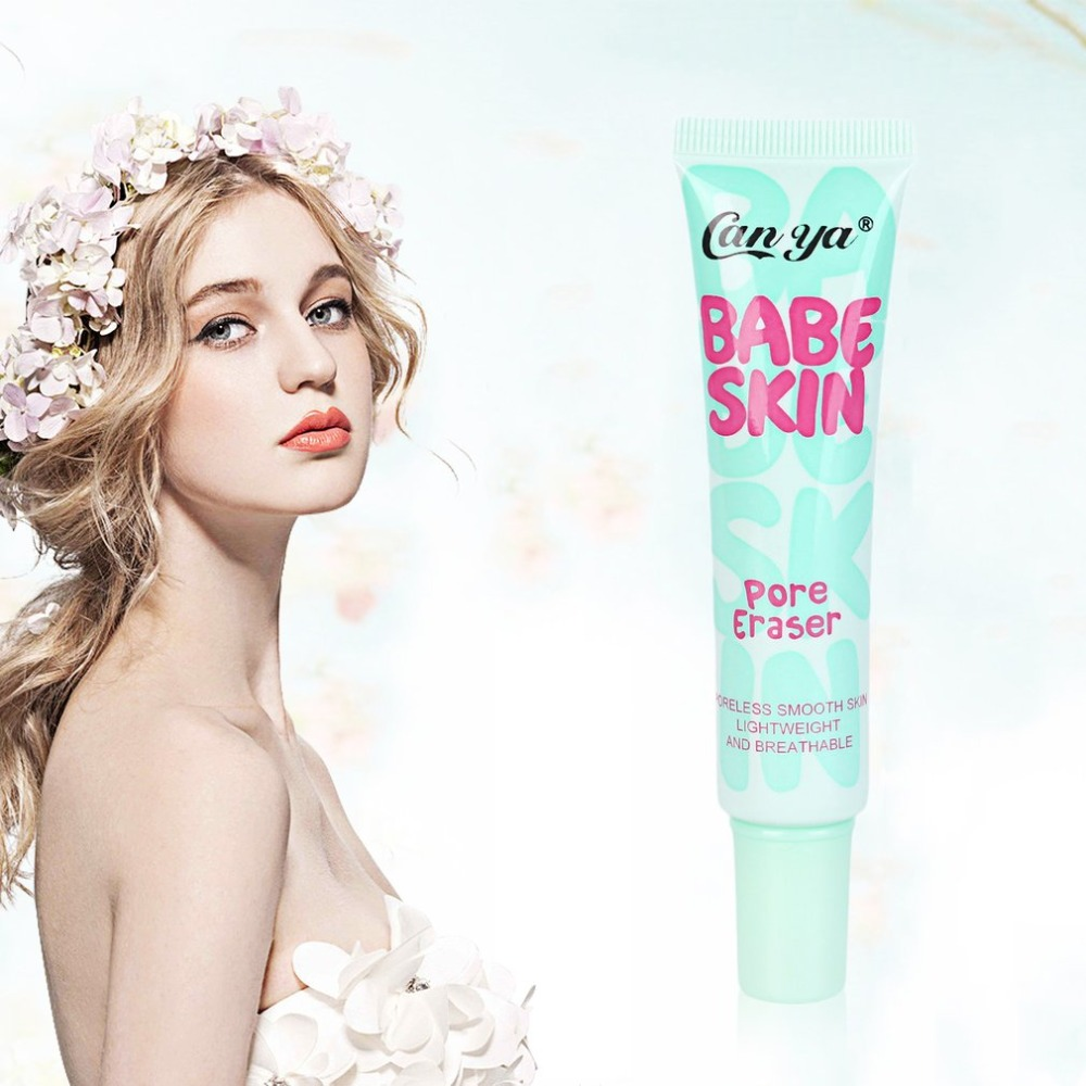 Baby Skin Pore Eraser Face Moisturizing Foundation Primer Cream Liquid Smooth Concealer Women Cosmetic For Beauty