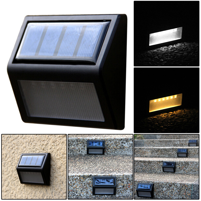 6LED Solar Light Outdoor Power Optically controlled Wall Light Waterproof Garden Wall Path Lighting Energy Saving Solar Lamps 6led solar light outdoor power optically controlled wall light waterproof garden wall path lighting energy saving solar lamps
