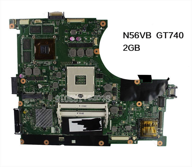 for ASUS N56VB font b Laptop b font Motherboard N56VM Rev2 3 mainboard GT740 2G N14P