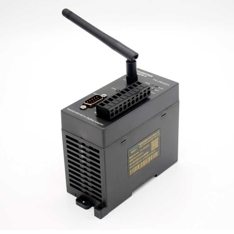 FOURSTAR Electronics Industrial RS232/485/422 Serial a adaptador inalámbrico ZigBee admite red de malla, Red star