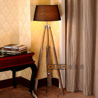 DSQ, Scandinavia style wooden floor lamp boat floor lamp