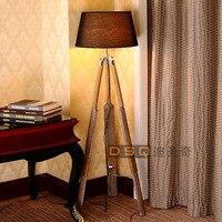 DSQ, Scandinavia style wooden floor lamp boat floor lamp