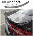 Спойлер из углеродного волокна для Jaguar XF XFL 2008 2009 2010 2011 2012 2013 2014 2015 Спойлеры заднего крыла высокое качество автомобильные аксессуары