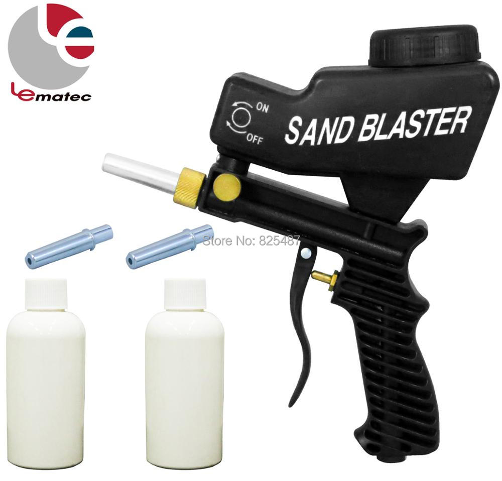 цена на LEMATEC HIGH QUALITY Sandblast gun Sandblasting Gun for rust dust remove sandblaster air tool Made in Taiwan sandblasting gun