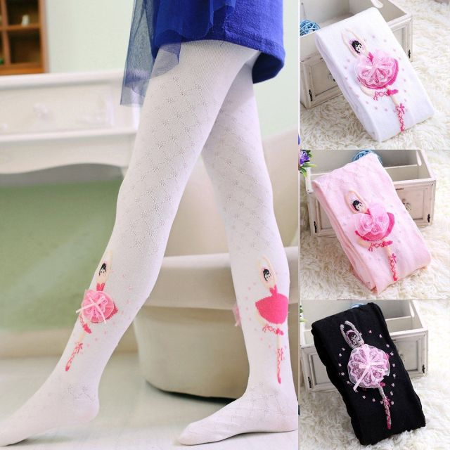 Baby Princess Salon Beauty Leg Ballet: Kids Baby Girls Tights Stockings Flower Ballet Girl