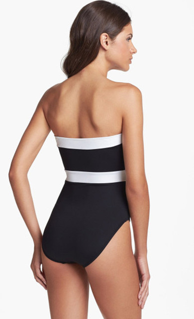 2017 Vintage Sexy Push Up Pinup Bikini Monokini