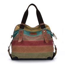 Canvas Women Messenger Bags High Quality Women's Shoulder Bags Handbags Female Famous Brands Crossbody Bag Bolsos Mujer