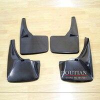 DOUTIAN 4 Pcs Kit ABS Black Mud Flaps Splash Guards Mudguard Mudflaps Fenders For Escalade Car