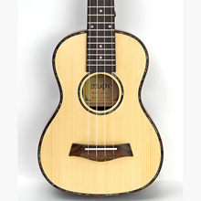 23 Concert Rosewood Ingerman Solid ukulele Spruce travel acoustic guitar Uke 4 Strings Hawaiian Mini Uku Acoustic