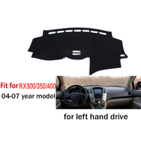 Car Dashboard Cover For LEXUS RX RX400 RX350 RX300 2004 2009 Left Hand Drive Dashmat Pad