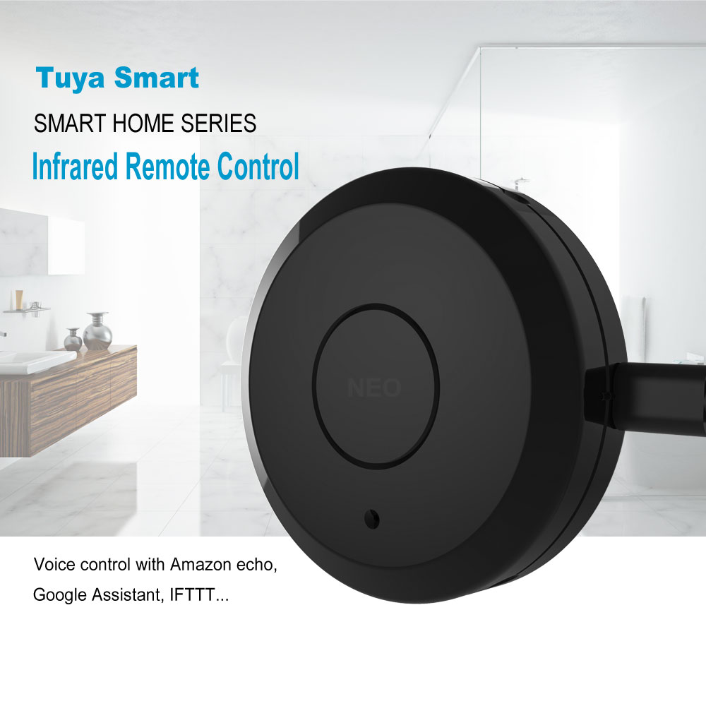 WiFi Smart Remote Controller IR Switch 360 Degree Smart Home Automation Voice Control  Alexa Google Assistant Tuya Smart Life