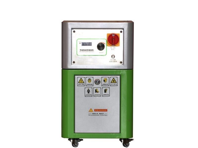 Mini indução furnacer fusão de ouro prata jóias ferramentas 220 v máquina de fundição de ouro empossar aquecedor