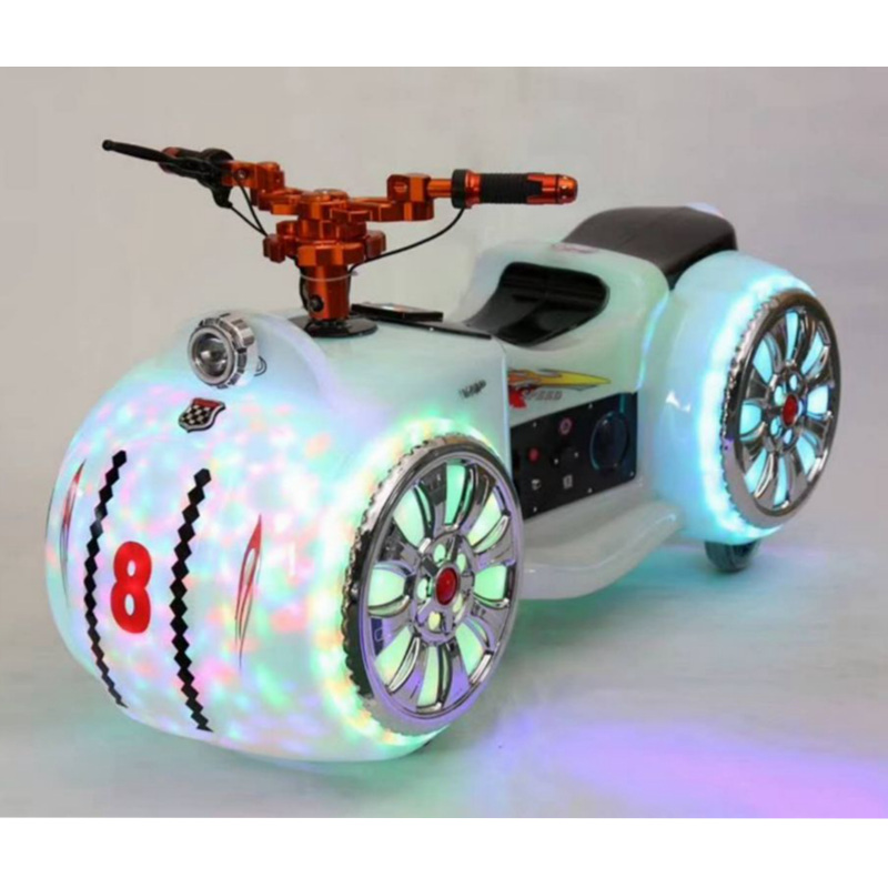 Suining Newest Amusement Park Drive Cute Car Moto Motorbike Rides Simulator Luminous Bumper Cars For Adults And Children