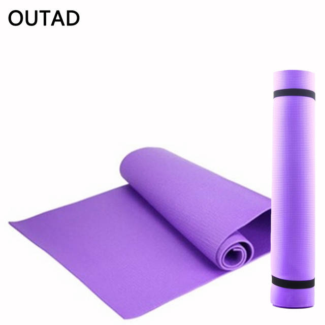 EVA Foam Yoga Mat Women Foldable Sport Healthy Gym Fitness Pad Lady  Non-skid Floor 8995482ac9
