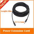 Cable de extensión de cable de alimentación de dc12v para cctv cámara ip de cobre puro material 1-3-5-10meters longitud opcional freeshipping caliente