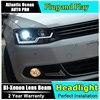 Car Styling For VW Jetta Headlights 2011 2014 Volks Wagen Jetta MK6 LED Headlight Jetta Led
