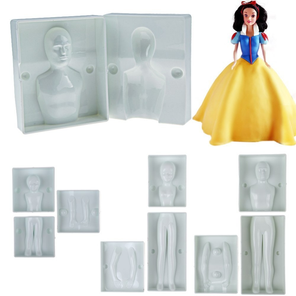 Home & Garden Hot Sale Fondant 3d People Shaped Cake Figure Family Set Human Body Decorating People Shaped Cake Mould Zh102 Always Buy Good