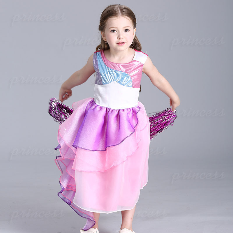 HI BLOOM 3 8 Years Vintage Baby Girl Christening Gown Girls Dress Birthday Gift Little Princess Tulle Tutu Costume Clothes In Dresses From Mother