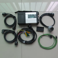 Mb Sd Connect C5 With 5 Cables Full Set Work For Mb Cars Trucks 12v 24v