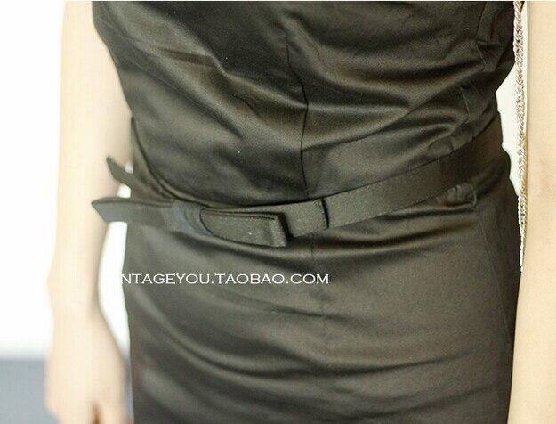 Платье в стиле Одри Хепберн, Vestidos, женские летние черные Повседневные Вечерние платья в стиле ретро, рокабилли, 50s 60 s, винтажные черные платья