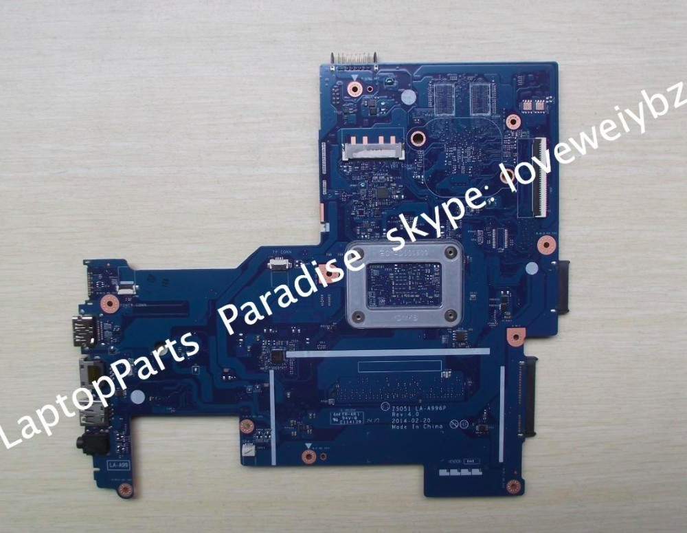 ZSO51 LA-A996P Rev:4.0 For HP 15-G 15-G001XX 15-G029WM with A4-5000 750634-501 Motherboard zso стандарт