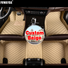 FUWAYDA Custom fit car floor mats made for BMW F10 5 Series LHD carpet rus liners  Covers Leather Interior Good quality