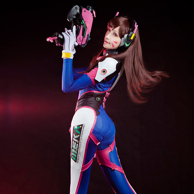 New Clothing Made The Game OW D.VA Tracer/Widowmaker/ Cosplay Costumes Full Set 3