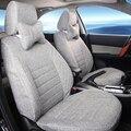 Полный Набор Авто Чехлы Набор, Пригодный для Toyota Fortuner 2015 Аксессуары для Автокресел Протектор Лен Крышка Автомобиля Подушка Безопасности совместимость