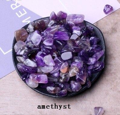 50 г Аметист точечный фиолетовый кварцевый кристалл исцеления каменные минералы VHF/UHF кристаллы кварца подарок для домашнего декора
