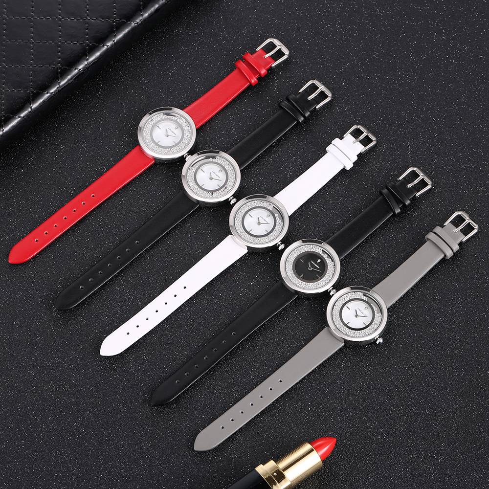 Super Slim Sliver case vogue leather strap Watches Women Top Brand Luxury Casual Clock Ladies Wrist Watch Lady Relogio Feminino (10)