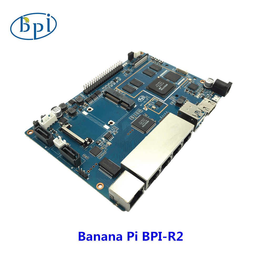 Newest arrive Banana PI BPI R2 MT 7623 Opensource Router