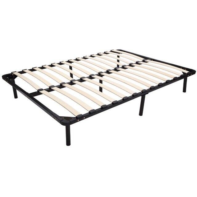 NEW Full Size Metal Platform Bed Frame Sleeping Metal Mattress-in ...