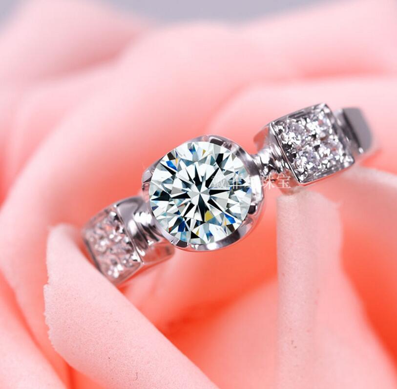 Здесь продается  SONA Diamond Ring 1 Carat Nail Diamond Sterling Silver Free Lettering Custom Female Engagement Ring (DFE)  Ювелирные изделия и часы
