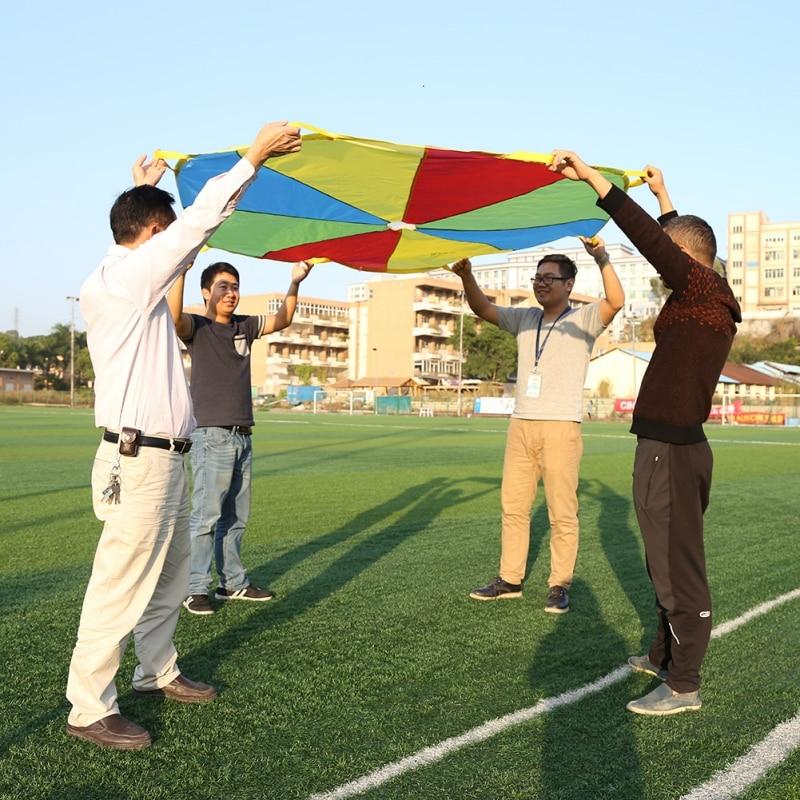 20*4*15CM Child Kid Sports Development Outdoor Umbrella Parachute Toy Jump-sack Ballute Play Parachute hot