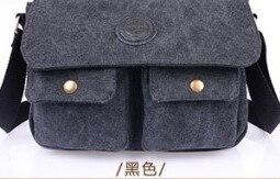 Горячая Высокое качество Холст сумка Старинные Дизайнер Мужчины Crossbody сумки Малый Сумка Для Мужчин 50