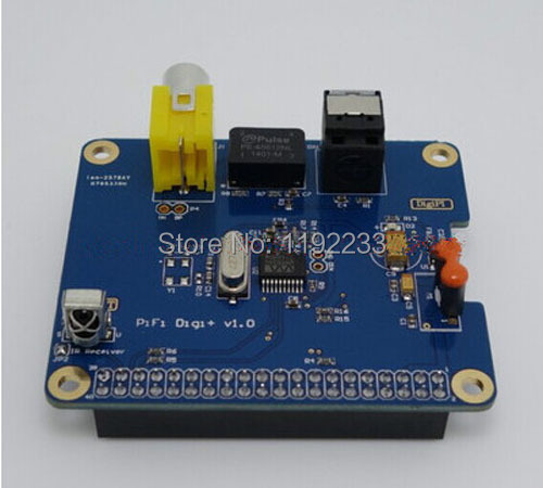 HIFI DiGi+ Digital Sound Card Module I2S SPDIF For Raspberry Pi 3B/2B/B+/A+ ...