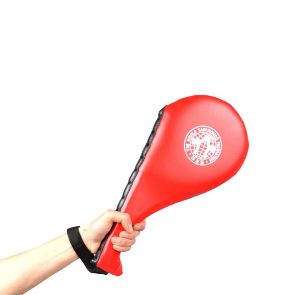 Новые детские тхэквондо ПУ отскок губки двойной удар Pad Целевая таэквондо Target Pad сделать Каратэ Кикбоксинг Новый
