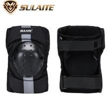 SULAITE Motorcycle Bicycle Cycling Bike Racing Knee Protector Tactical Skate Protective Ski Skateboard BMX Pads Guard