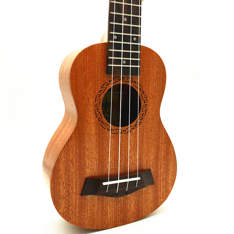 21 inch Ukulele Four Strings Hawaiian Guitar Ukelele small guitare ukulele soprano ukulele 21 guitarra sapele material soprano ukulele neck for 21 inch ukelele uke hawaii guitar parts luthier diy sapele veneer pack of 5
