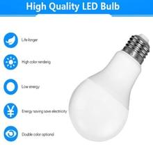 E27 Led Bulb  SMD 2835 3W 5W 7W 9W 12W 15W 18W Night Lamp cfl Ampoule 110V 220V Spotlight Light Lampada Diode Home Decor Ene все цены