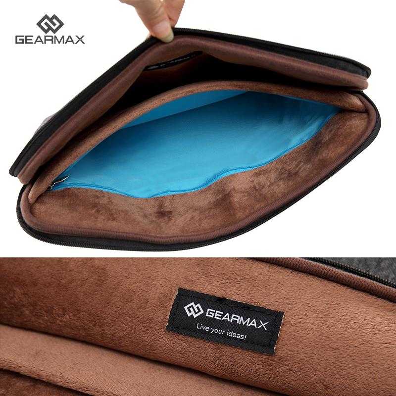 Felt Laptop Sleeve 14 Inch For Dell Inspiron Inner Pocket For Charger Christmas Gift Laptop Sleeve