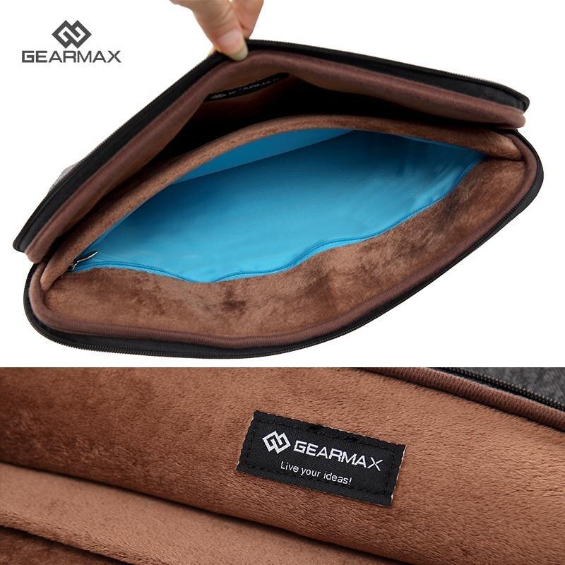 Felt Laptop Sleeve 14 Inch For Dell Inspiron Inner Pocket For Charger Christmas Gift Laptop Sleeve