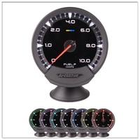 Auto digital fuel gauge GReddi Sirius Meter Series Trust 7 colors Racing Car Fuel Press Fuel Pressure Gauge with High quality