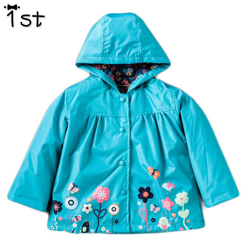 1st Hooded Boys Jacket Girls Jacket for Girl Coat Kids Winter Outwear Coats Clothes Spring Autumn Fashion Children Raincoat Coat недорго, оригинальная цена