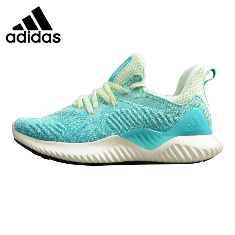 newest collection 765af 7d6a9 Aliexpress.com   Buy Adidas Alpha Bounce EM Women s Running Shoes,  Blue Pink, Breathable Wear resistant Lightweight Shock Absorbing CG5578  CG5579 from ...