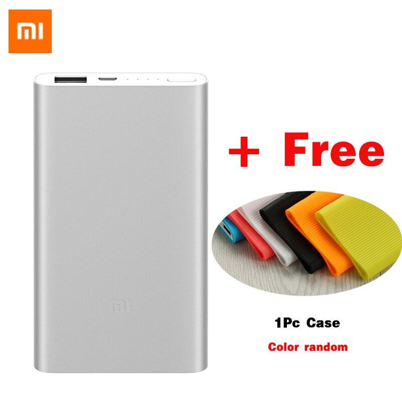 Original Xiaomi Power Bank 5000mAh Mi 2 Portable Charger