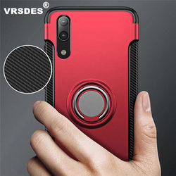 VRSDES Heavy Duty Armor Case For huawei P20 Lite Pro P10 Plus NOVA 2 3 3i Car Holder Cover For P10 Lite P9 Plus Honor 8X MAX
