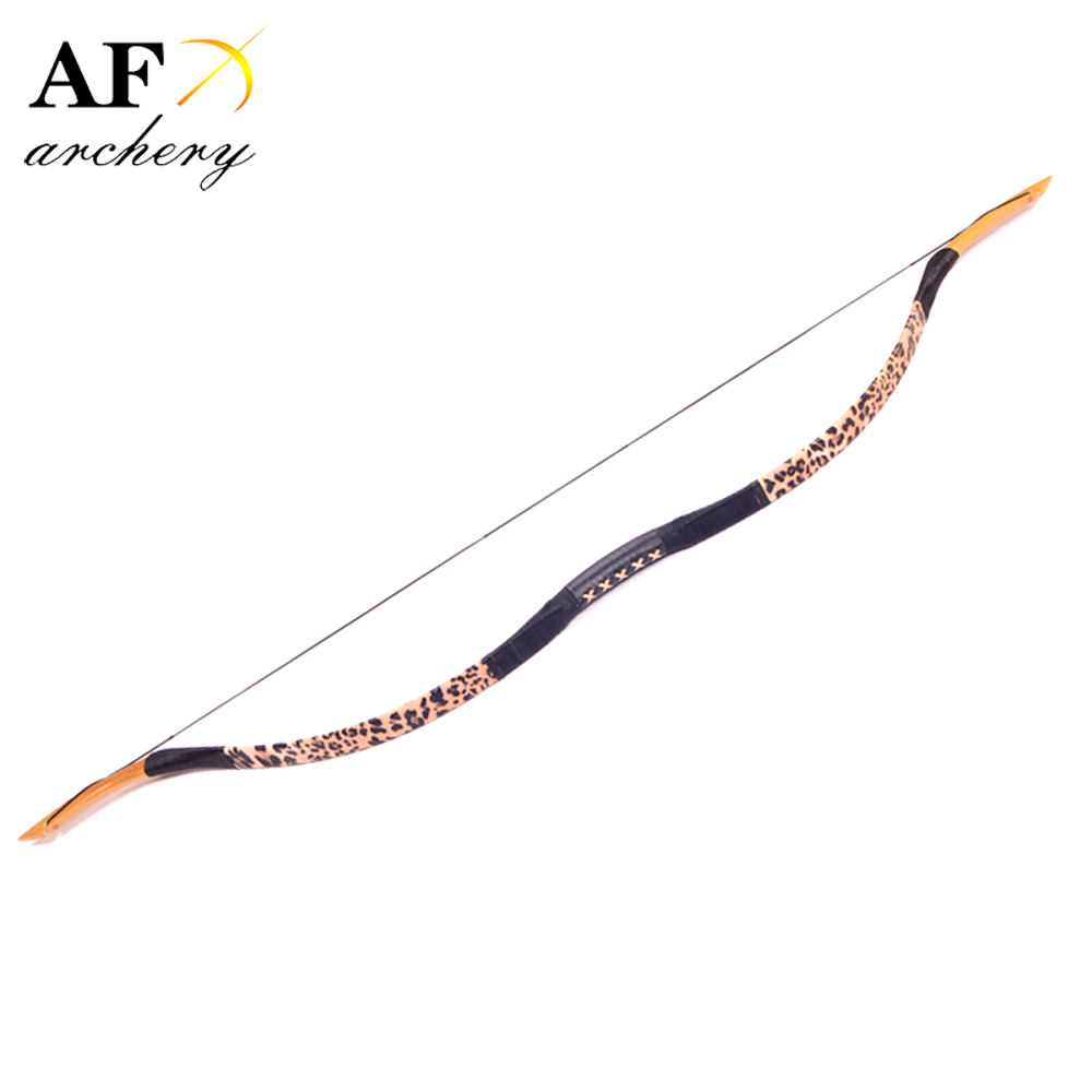 20-100LBS Archery Handmade Fiberglass Bow Han bow Traditional Recurve BowOutdoor Hunting 40lb tranditional recurve bow archery fiberglass hunter dark brown print bow yellow bow tip handmade bow