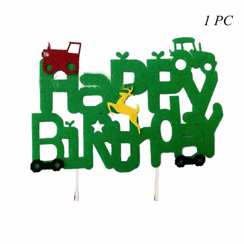 1 مجموعة حفارة نفخ بالونات البناء جرار الكرة شاحنة مركبة لافتات استحمام الطفل أطفال بنين حفلة عيد ميلاد لوازم